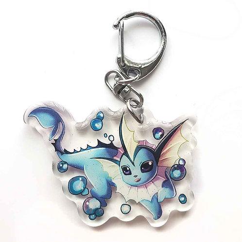 Shiney Vaporeon Keychain