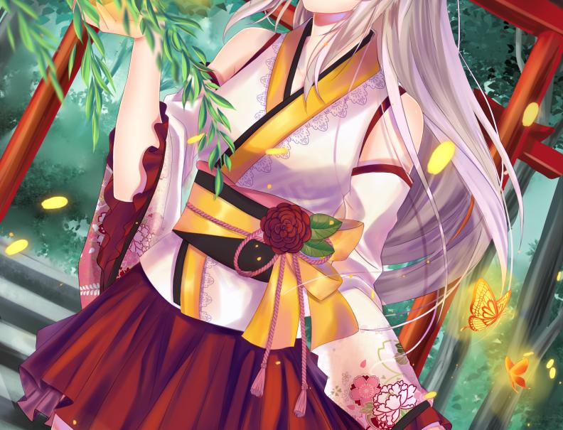 Kitsune Fox Poster