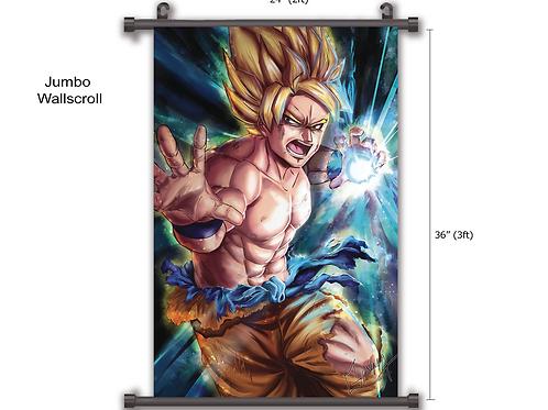 Goku Anime Wall Scroll