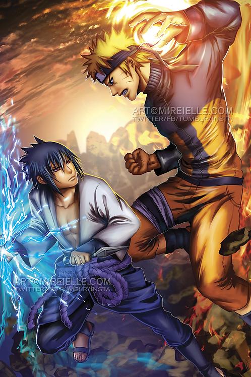 Anime Fanart Poster
