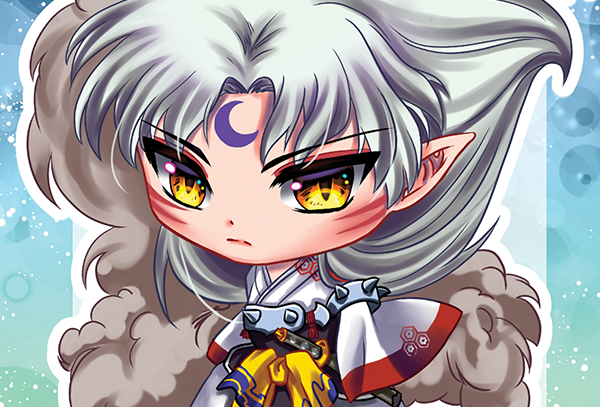 Sesshomaru Mini Print