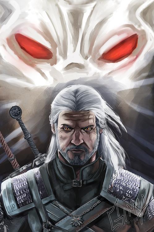 Witcher Geralt Poster