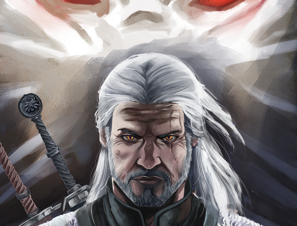 Witcher Geralt Poster
