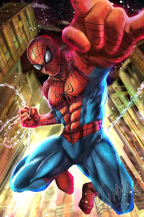 Spiderman Poster Print