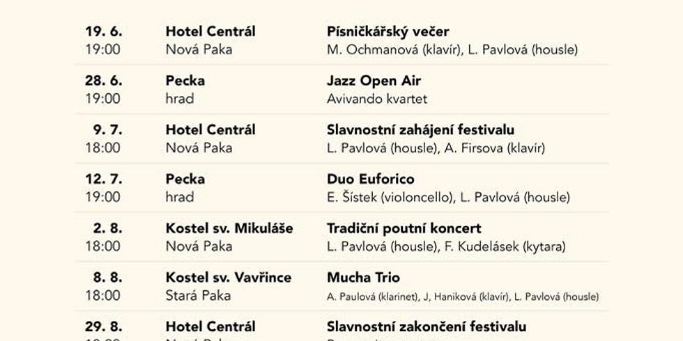 Podkrkonošské hudební léto - koncert