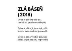 Zlá báseň