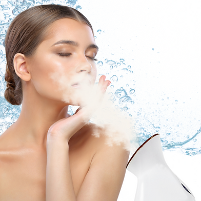 Living Newell - woman steaming - water s