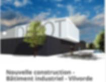 Isolation intérieur bâtiment industriel en blocs de chanvre avec enduit à la chaux.Réalisation OTRA/AD-mix sprl - www.otra-construct.com