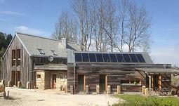 Bardage ancien en bois gris, barnwood, pour l'extérieur et l'intérieur