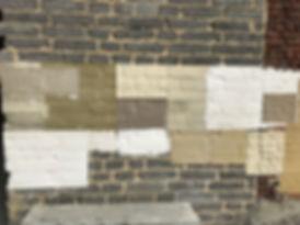 OTRA échantillons de chaulage et badigeon de chaux