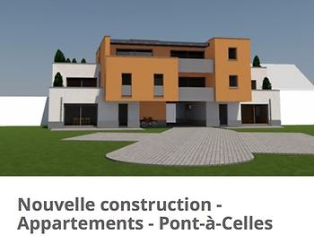 OTRA Réalisation d'un immeuble àappartements CLT et blocs de chanvre 30CM : OTRA/AD-mix sprl