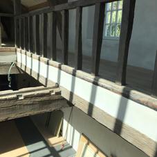 Détail rénovation enduit