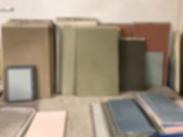 OTRA échantillons d'argile et de chaux