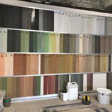 Palette couleur sur mesure
