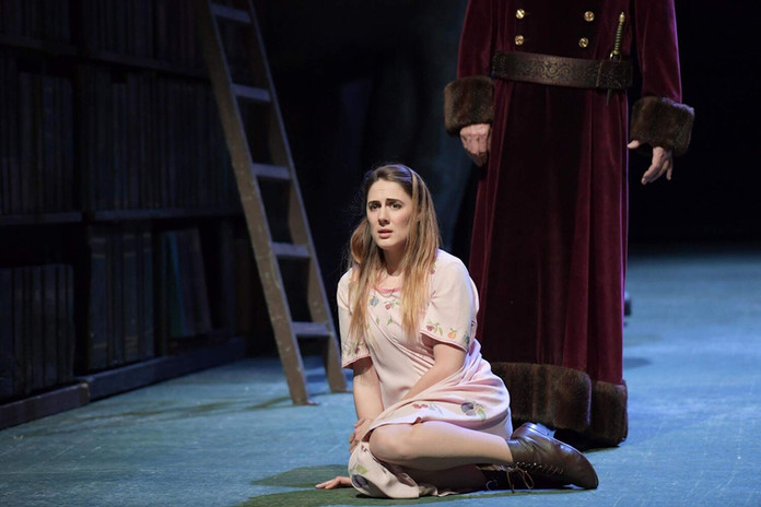 Die Zauberflöte (Pamina )   Oper Frankurt, 2016