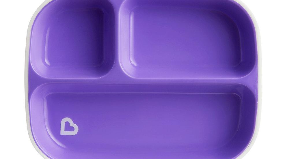 Conjunto de Pratos com divisória embalagem 2 unidades