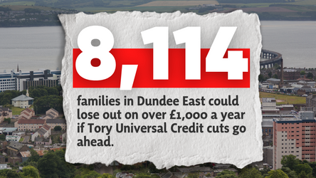 DUNDEE EAST MP CALLS FOR U-TURN ON UNIVERSAL CREDIT CUTS