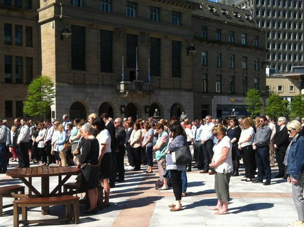 Minute Silence for Manchester