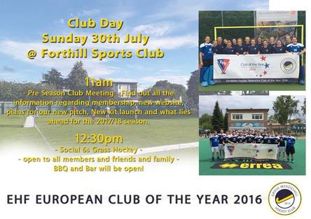 Grove Menzieshill Hockey Club Day