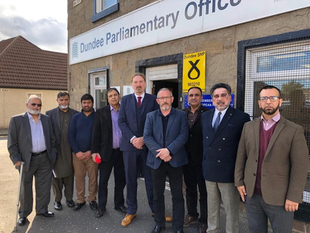 DUNDEE MPS UNITE TO URGE ACTION ON KASHMIR