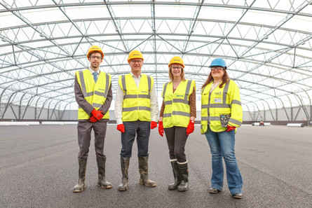 DUNDEE MSPs WELCOME PROGRESS ON NEW CAIRD PARK SPORTS CENTRE
