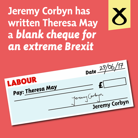 Blank Cheque for an Extreme Brexit
