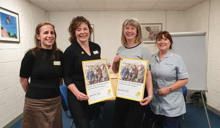 SHONA ROBISON MSP PRAISES MARIE CURIE SUPPORT IN DUNDEE