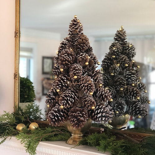 Pinecone Tabletop Christmas Tree Kit