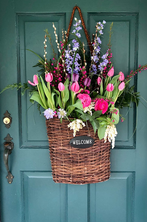 Welcome Basket full of Blooms