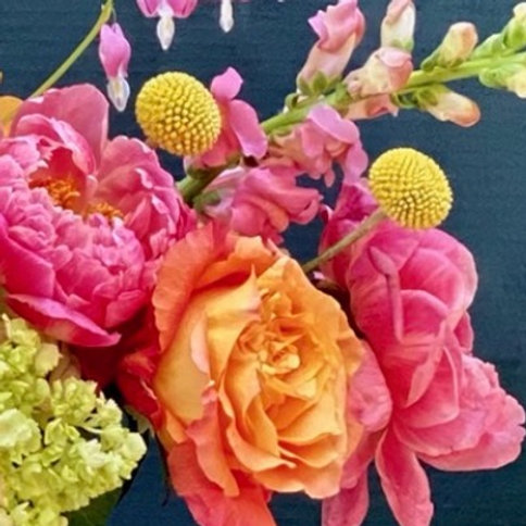 Classic Centerpiece with Peonies