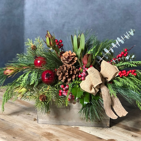 Rustic Holiday arrangement kit