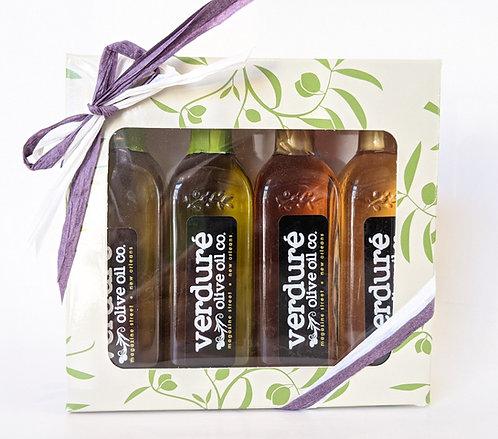 4-pack Mini Olive Oil Sampler Box