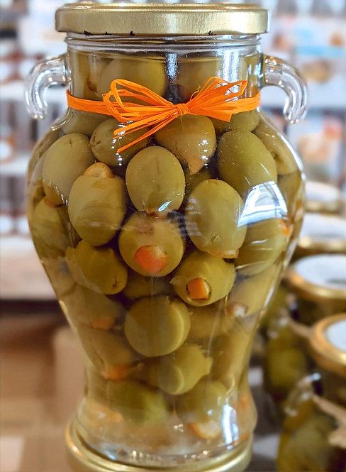 Orange Stuffed Manzanillo Olives