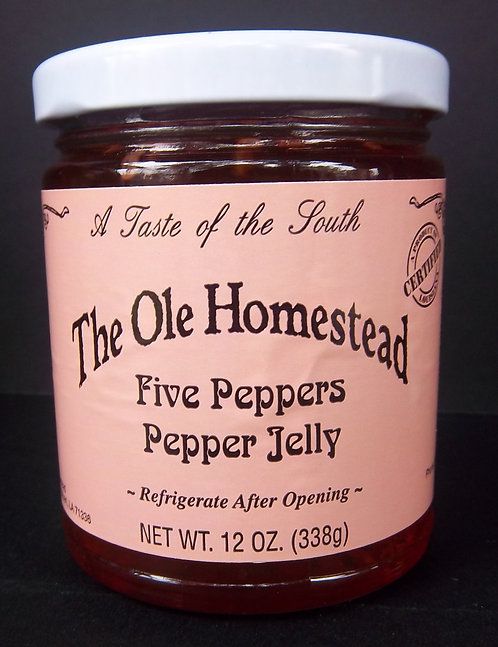Ole Homestead Five Peppers Jelly