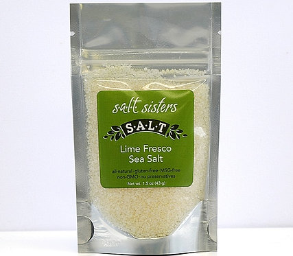 Lime Fresco Sea Salt by Salt Sister 1.5oz.