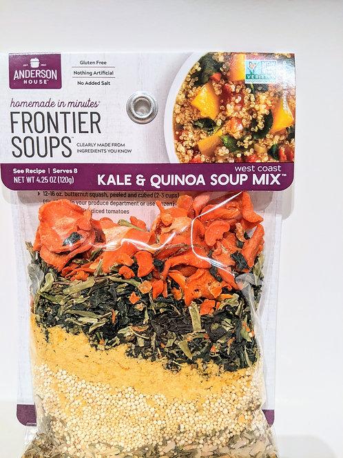 """30 minute"" Kale and Quinoa Vegetable Soup Mix"