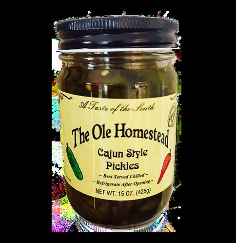 Cajun Style Pickles