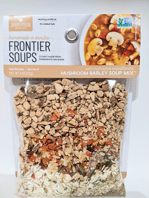 """30 minute"" Mushroom Barley Soup Mix"
