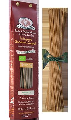 Spaghetti (Whole Wheat) Pasta by Rustichella d'Abruzzo