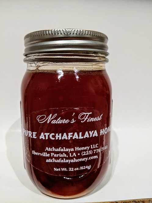 Pure Atchafalaya Honey Pint (22oz)