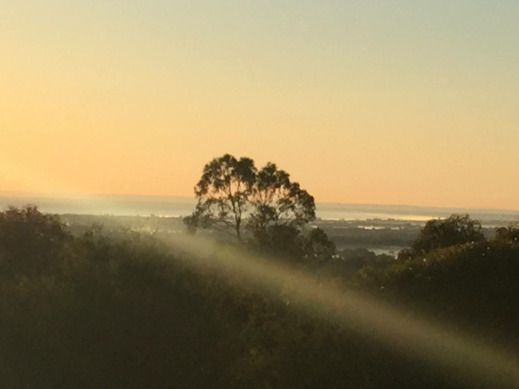 Early morning over Geographe Bay