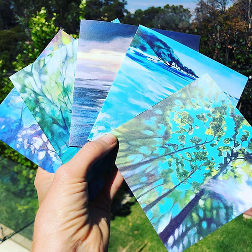 Selection Pack of 5 Fine Art Cards