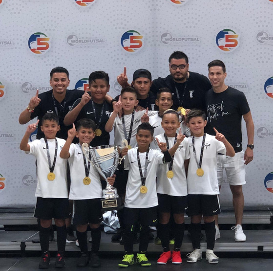 Toque Futsal Club - Boys World Futsal Champs