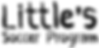 Little's Soccer Progarm Logo.png