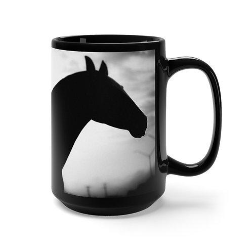 Black Horse Mug 15oz