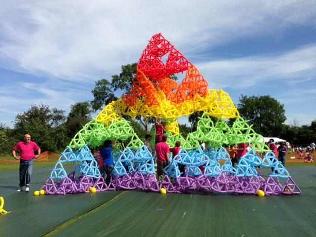 Balloon tetrahedron
