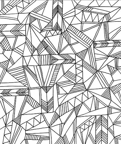 Printable-Geometric-Coloring-Pages-for-A