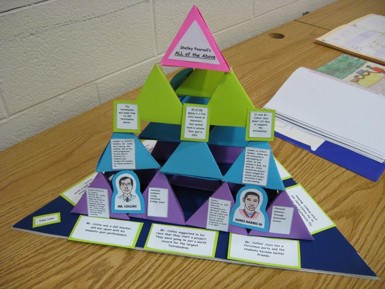 Tetrahedron book report