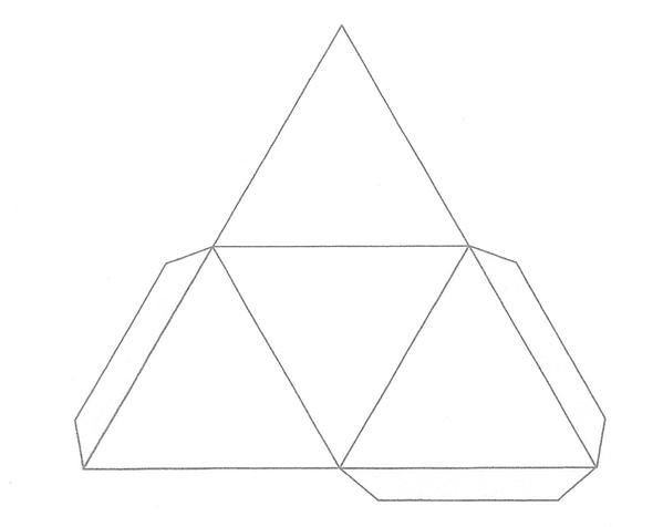 tetrahedron shape