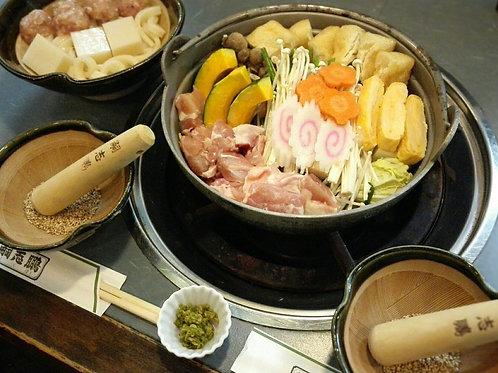 鶏肉ちゃんこ(団子セット付)3人前